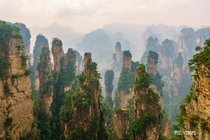 Took this shot when visiting Zhangjianjie National Forest Park Hunan China last year