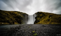 Took this Skogafoss pic and when I look at it now I realize just how massive this waterfall is