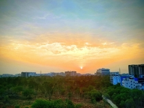 Took this today morning Hues of Dawn DLF Hyderabad India