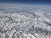 Took This While Flying Over Siberia Russia
