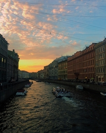 Took this while visiting St Petersburg Russia in July