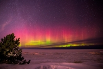 Took those in Marquette Michigan The conditions were favorable but still -F and the aurora was active