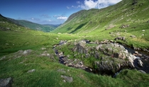 Top o Grisedale Lake District Cumbria England