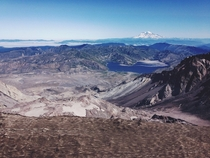 Top of Mount St Helens hike