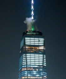 Top of the One World Trade Center by Daniel Liebeskind