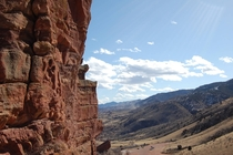 Top of the Red Rocks Amphitheater Colorado