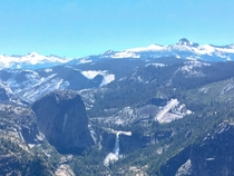 Top of the world at Yosemite