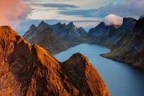 Top of the World - Lofoten Islands Norway  Photo by Orsolya Haarberg