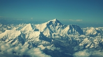 Top of the world Mount Everest Nepal