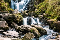 Torc Waterfall Rossnahowgarry Killarney Co Kerry Ireland x