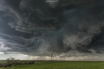 Tornado touches down in an open field Matheson Colorado USA x  - JAMESSMARTCOMAU