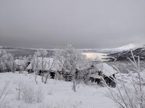 Tornetrask lake in Abisko Sweden