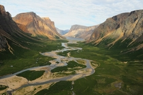 Torngat Mountains Labrador Canada