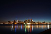 Toronto City Skyline during last Saturdays night