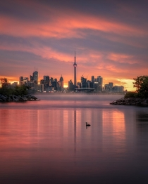 Toronto from Humber Bay Park West by utherealmindzeye