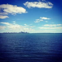 Toronto from Lake Ontario