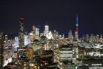 Toronto from the One Eighty Rooftop Restaurant