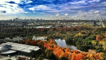 Toronto in Autumn from the IOF Building  in rToronto