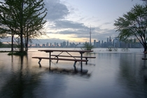 Toronto Island Flood  Strangely Beautiful