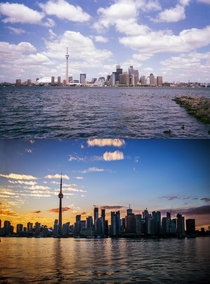 Toronto  skyline compared to