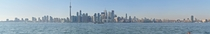 Toronto skyline panoramic