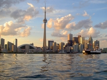 Toronto waterfront and skyline