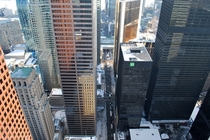 Torontos Financial District from Trump Tower
