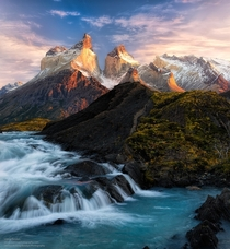Torres Del Paine Chile  by Gregory Boratyn