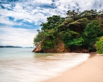 TORTUGA ISLAND - Pacific Coast Costa Rica Gorgeous sands on a sunny day - igjoeflask