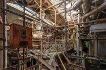 Total Chaos in an Abandoned Paper Mill Built in  closed in the s OCx