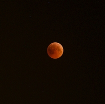 Total lunar eclipse at Abu Dhabi on July   Image taken by Souhayl Ben Khaled United Arab Emirates Astronomy Group