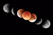 Total lunar eclipse of September   It also was a dark eclipse possibly due to ash from the eruptions of Calbuco a volcano in Chile