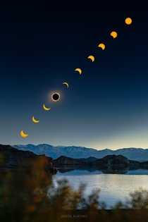 Total Solar Eclipse in Rodeo San Juan Argentina