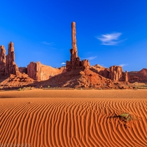 Totem pole Monument Valley Arizona  Photo by David Maslen
