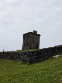 Tower at Bray Head Valentia Island Ireland