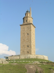 Tower of Hercules almost  year old lighthouse built by the Romans