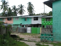 Townhouses one with polka dots Linden Guyana