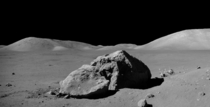Tracys Rock visited by the Apollo  crew on December