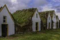 Traditional Turf Farmhouses Glaumbaer Iceland