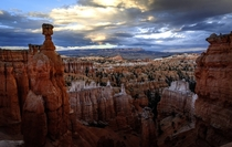 Trail on Top of Bryce Canyon in Utah