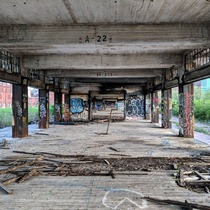 Train Depot left abandoned for almost  years St Louis