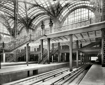 Train platforms of the original Pennsylvania Station in New York City  years before its destruction  xpost from rnychistory