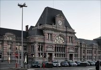 Train Station Tournai Belgium