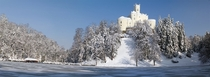 Trakoan Castle in Varadin County Croatia  x-post rCroatiaPics