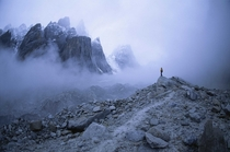 Trango Towers Karakoram Pakistan  By Bill Hatcher
