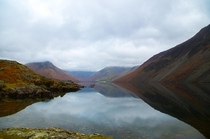 Tranquil and cloudy in the Lake District