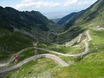 Transfagarasan Mountain Pass Romania