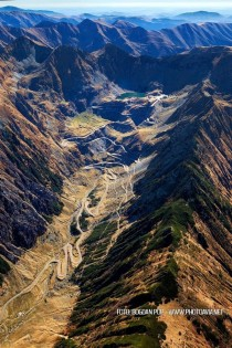 Transfagarasan  Romania - The best road in the world according to Top Gear