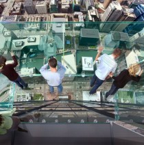 Transparent balcony at the Sears Tower Chicago