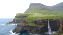 Travelled to the Faroe Islands last year snapped this pic of Gsadalur